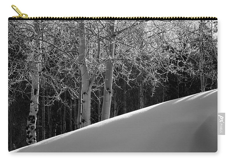 Colorado Carry-all Pouch featuring the photograph Aspencade by Skip Hunt