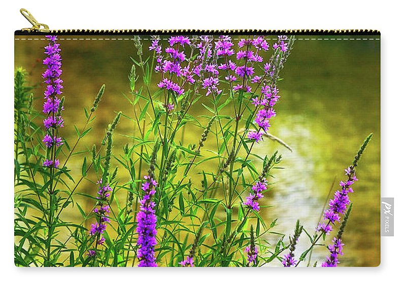 Wildflower Carry-all Pouch featuring the photograph Aspirations by Steve Harrington