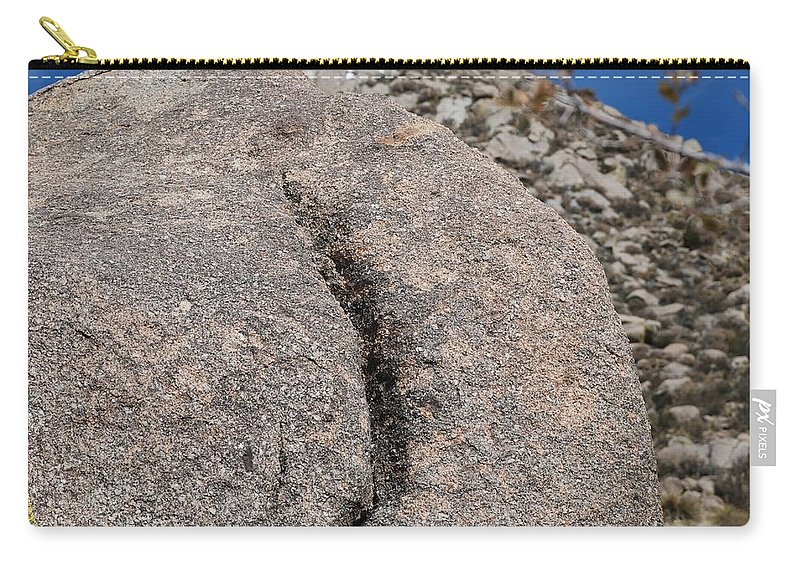 Pop Art Carry-all Pouch featuring the photograph Ass Rock New Mexico by Rob Hans