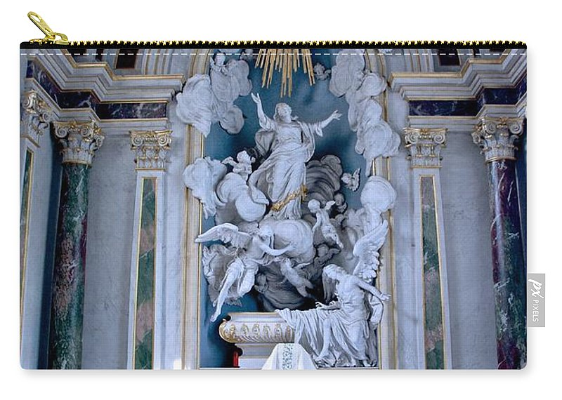 Catholic Carry-all Pouch featuring the photograph Assumption Of Mary by Eric Tressler