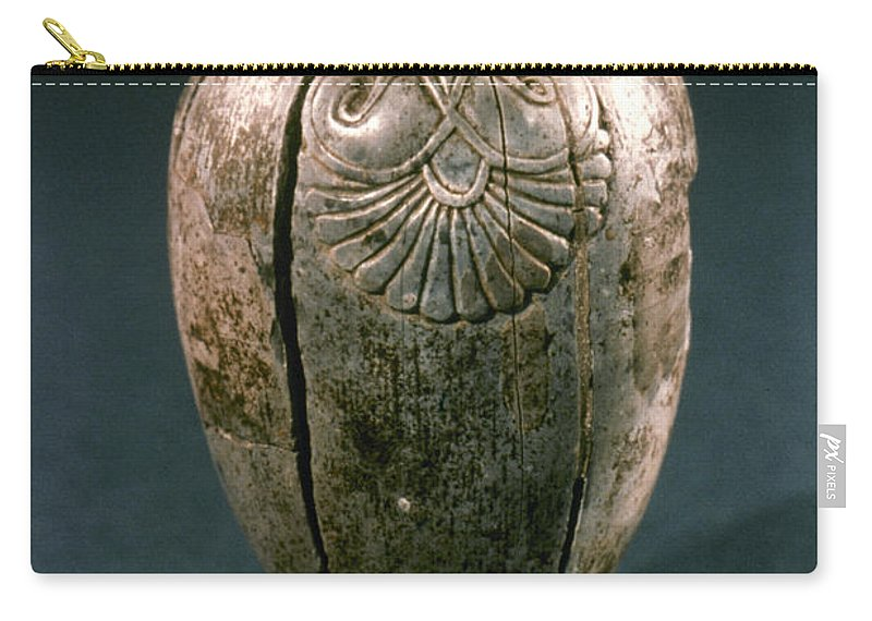 8th Century B.c. Carry-all Pouch featuring the photograph Assyrian Jug by Granger