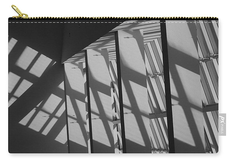 Shades Carry-all Pouch featuring the photograph Asylum Windows by Rob Hans