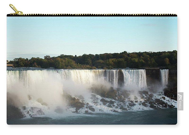 Canada Carry-all Pouch featuring the photograph At Dusk by Priit Einbaum