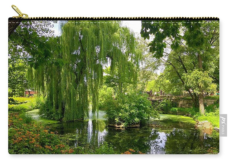 Park Carry-all Pouch featuring the photograph At Peace by Margaret Fronimos