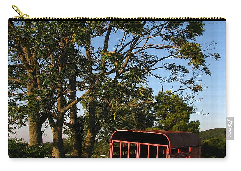 Landscape Carry-all Pouch featuring the photograph At Rest by Todd Blanchard