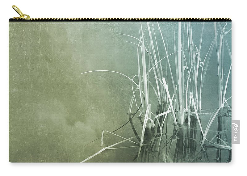 Series Carry-all Pouch featuring the photograph At The Lake 5 by Priska Wettstein