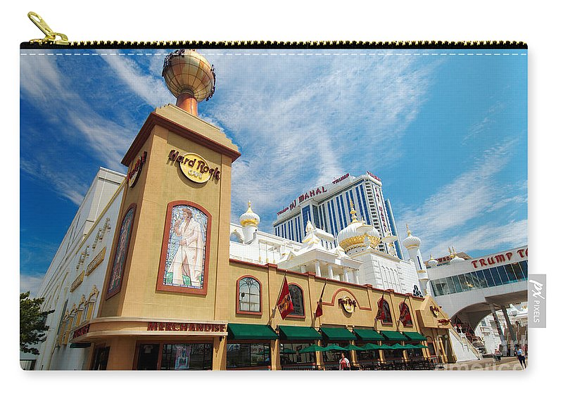 Boardwalk Carry-all Pouch featuring the photograph Atlantic City by George Mattei