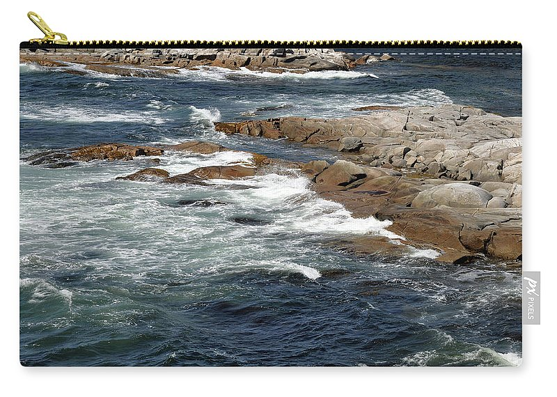Atlantic Ocean Carry-all Pouch featuring the photograph Atlantic by Colleen English