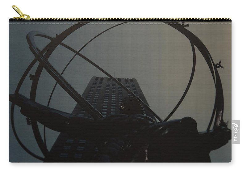 Atlas Carry-all Pouch featuring the photograph Atlas by Rob Hans