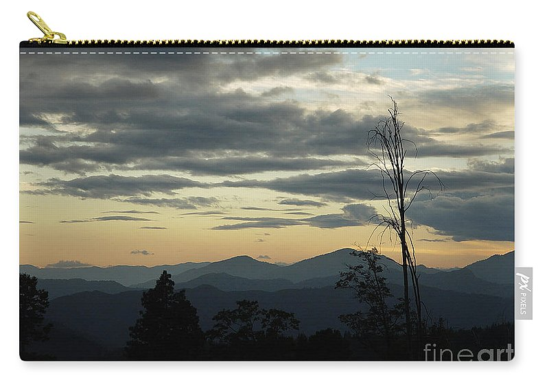 Atmospheric Carry-all Pouch featuring the photograph Atmospheric Perspective by Peter Piatt