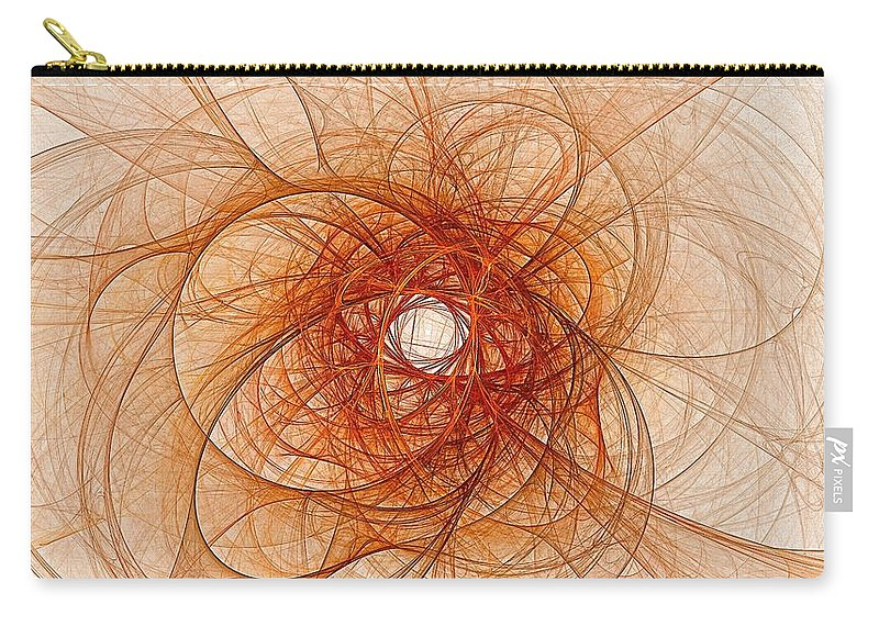 Carry-all Pouch featuring the digital art Atomic Crossroads by Doug Morgan