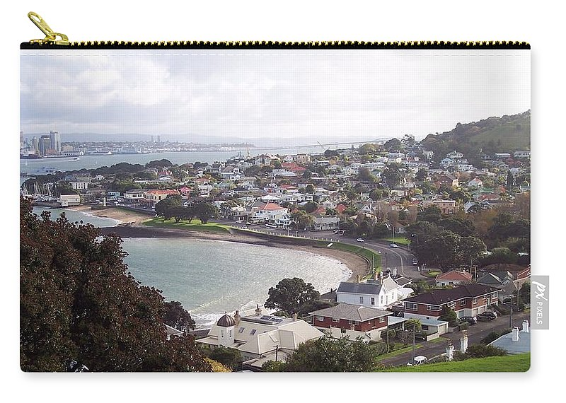New Zealand Carry-all Pouch featuring the photograph New Zealand - Boutique Devonport Beach by Jeffrey Shaw