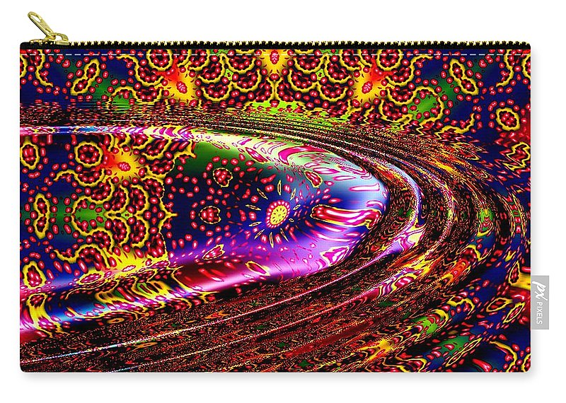 Wave Carry-all Pouch featuring the digital art August by Robert Orinski
