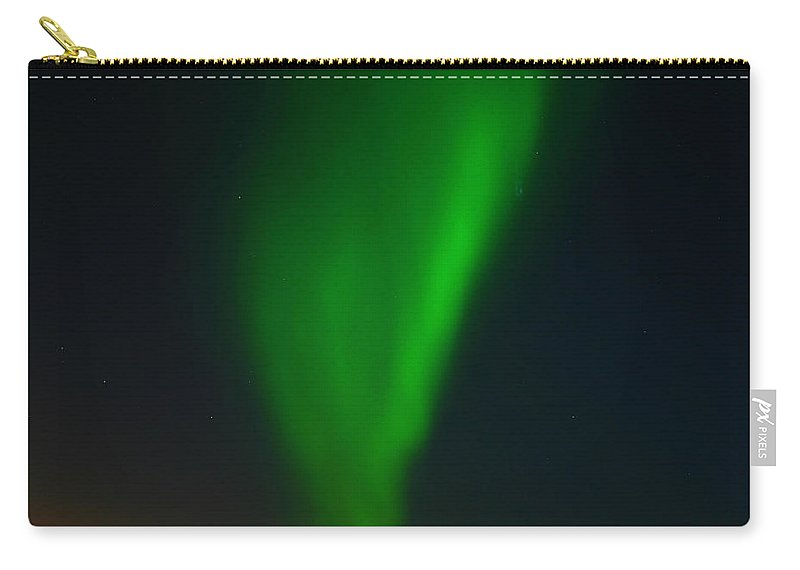 Aurora Borealis Carry-all Pouch featuring the photograph Aurora Borealis by Anthony Jones