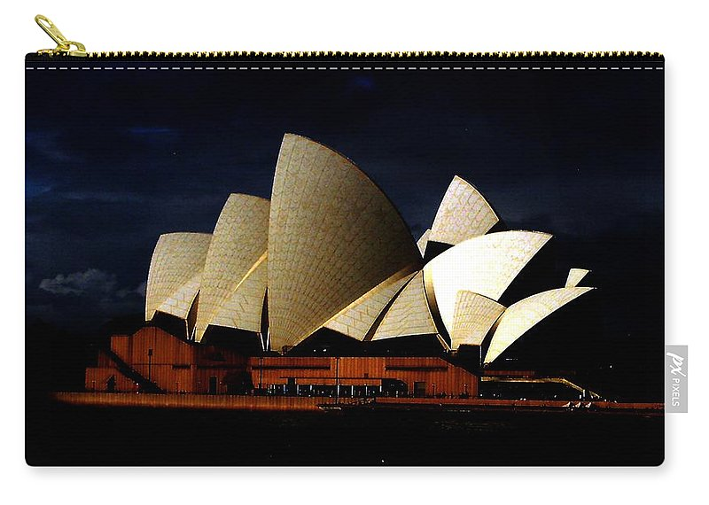 Sydney Carry-all Pouch featuring the photograph Australia 101 by Suzan Roberts-Skeats