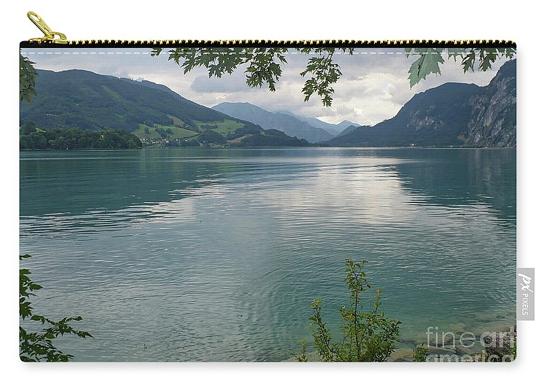 Austria Carry-all Pouch featuring the photograph Austrian Lake by Carol Groenen