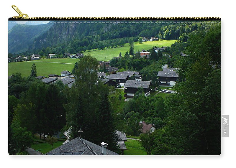 Austria Carry-all Pouch featuring the photograph Austrian Landscape by Carol Groenen