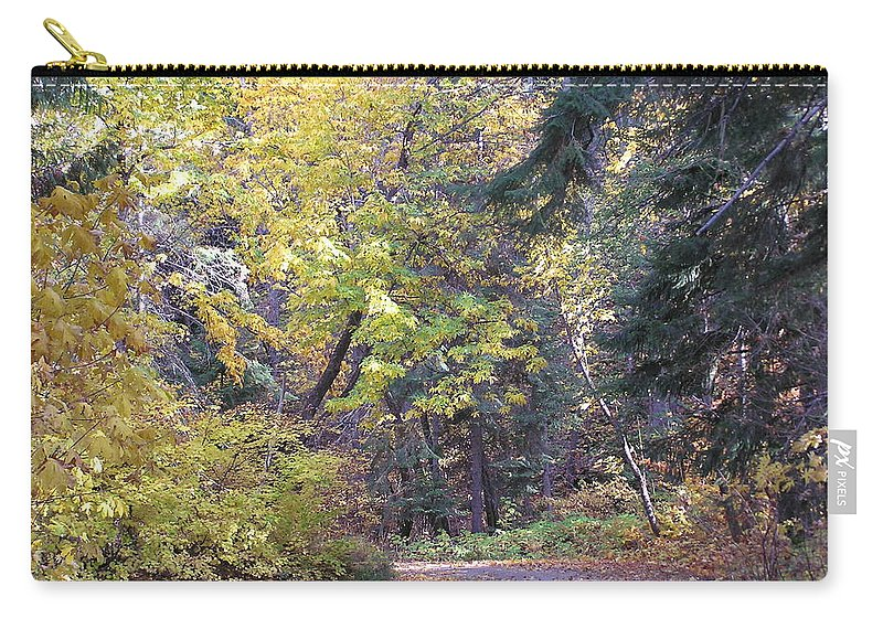 Autumn Photographs Carry-all Pouch featuring the photograph Autum Colors by Louise Magno