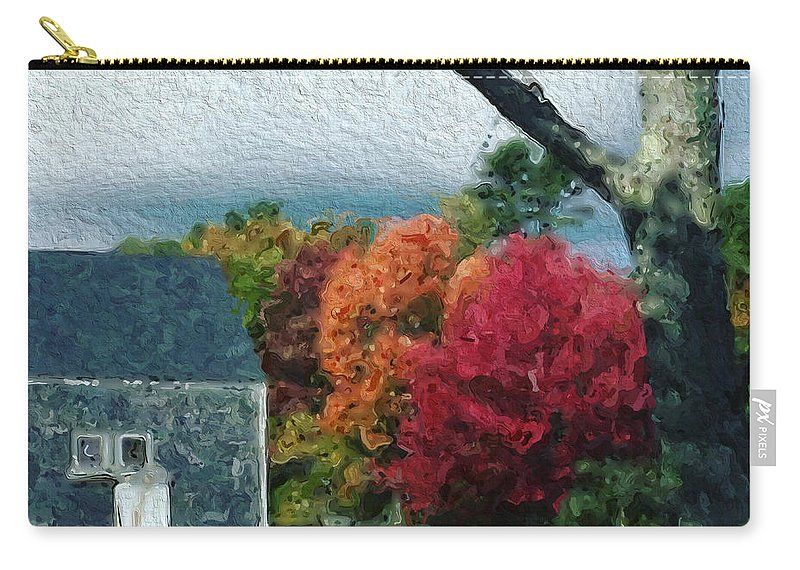 Rural Carry-all Pouch featuring the photograph Autumn 1010 by Modern Art