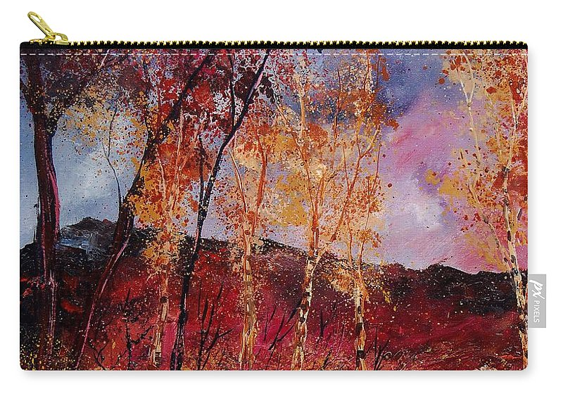 Tree Carry-all Pouch featuring the painting Autumn 6712545 by Pol Ledent