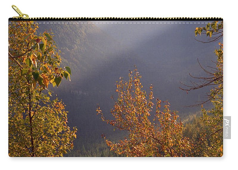 Mountains Carry-all Pouch featuring the photograph Autumn At Logan Pass by Richard Rizzo