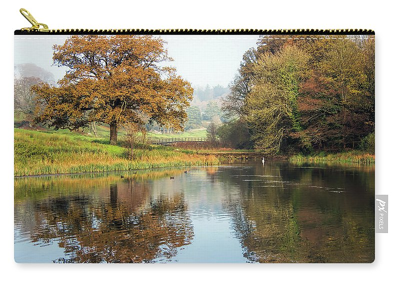 Somerset Carry-all Pouch featuring the photograph Autumn Colours - Somerset by Susie Peek