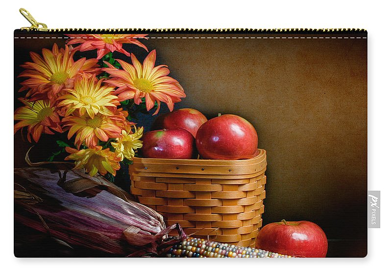 Fall Carry-all Pouch featuring the photograph Autumn by David and Carol Kelly