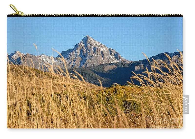 Fall Carry-all Pouch featuring the photograph Autumn Day by David Lee Thompson