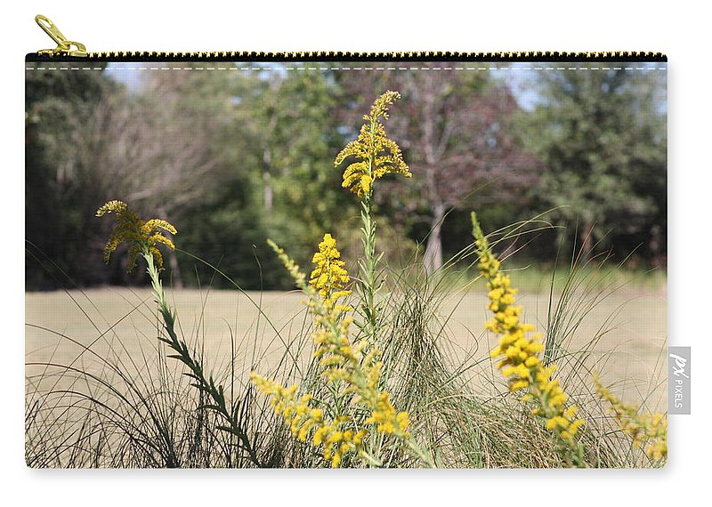 Petals Carry-all Pouch featuring the photograph Autumn by Debra Forand
