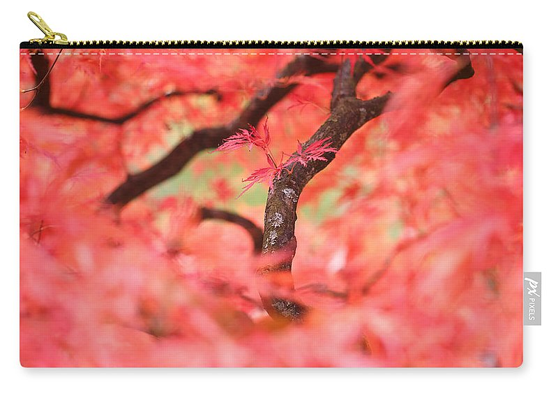 Autumn Carry-all Pouch featuring the photograph Autumn From Within by Roeselien Raimond