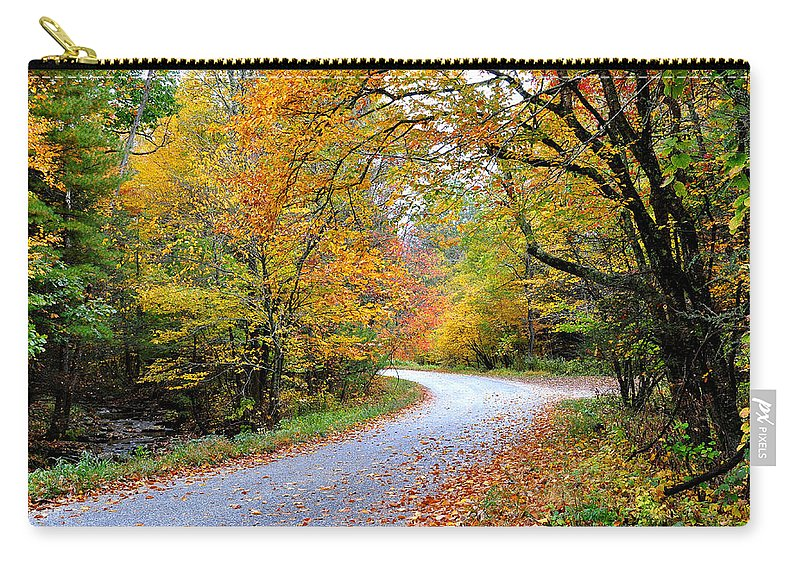 Autum Carry-all Pouch featuring the photograph Autumn Glory by Todd Hostetter