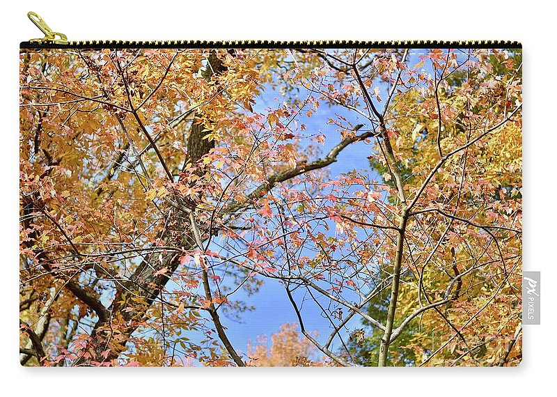 Autumn Carry-all Pouch featuring the photograph Autumn In Full Swing by Jeramey Lende
