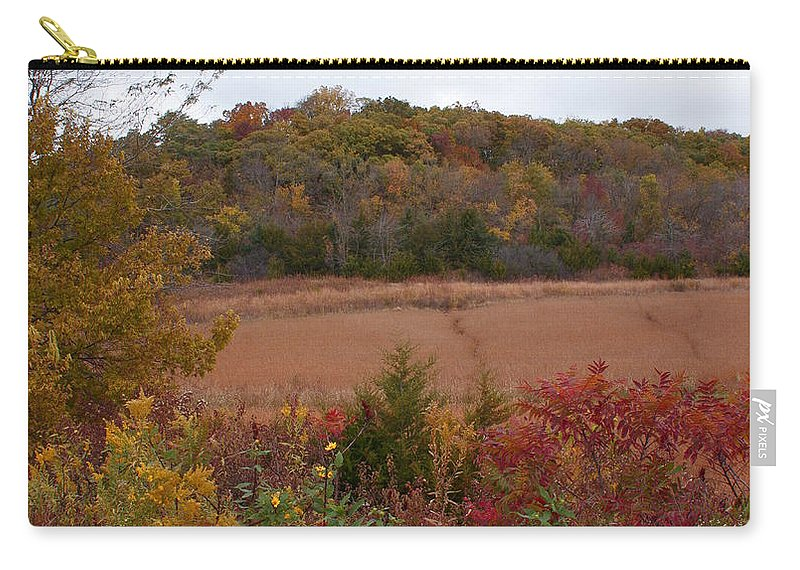 Missouri Autumn Carry-all Pouch featuring the photograph Autumn In Missouri by Joanne Smoley