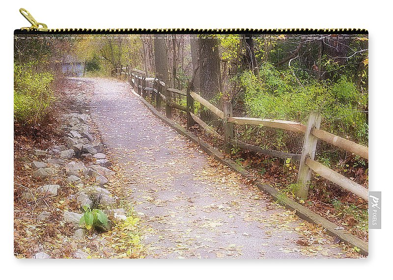 2d Carry-all Pouch featuring the photograph Autumn In The Park by Brian Wallace
