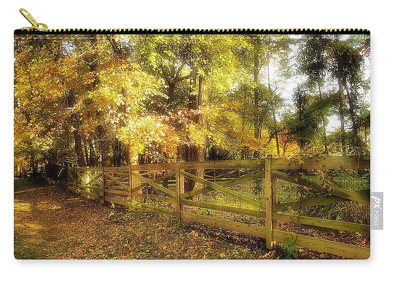 2d Carry-all Pouch featuring the photograph Autumn Leaves by Brian Wallace