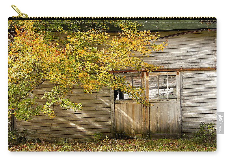 Autumn Carry-all Pouch featuring the photograph Golden Lights by JAMART Photography