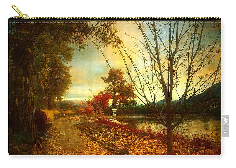 Autumn Carry-all Pouch featuring the photograph Autumn Magic by Tara Turner