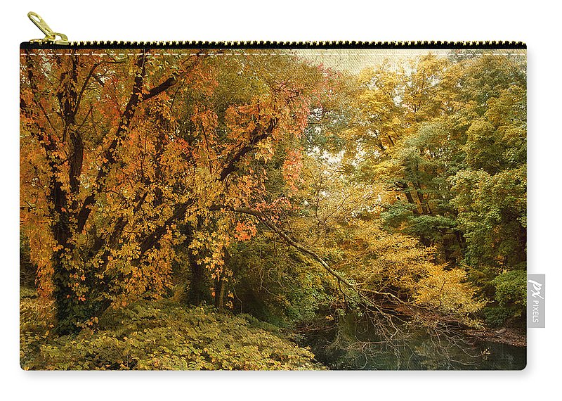 Autumn Carry-all Pouch featuring the photograph Autumn Palette by Jessica Jenney