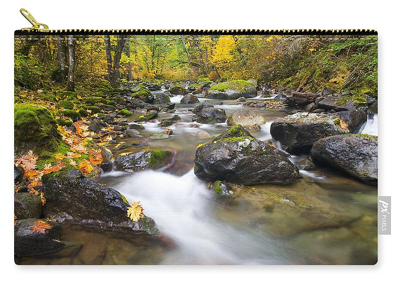 Fall Carry-all Pouch featuring the photograph Autumn Passing by Mike Dawson
