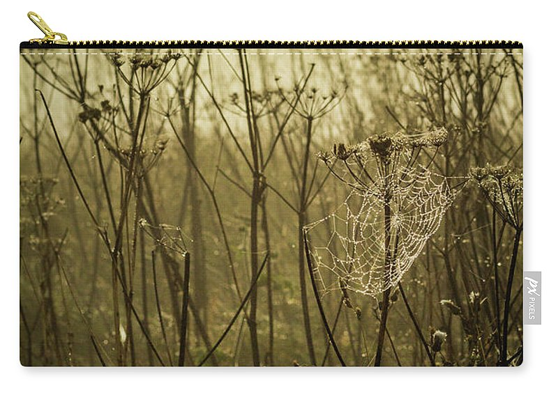 Mist Carry-all Pouch featuring the photograph Autumn Portrait by David Mckenna