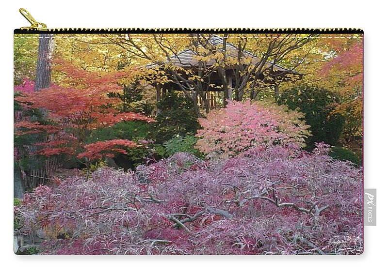 Fall Carry-all Pouch featuring the photograph Autumn Purple by Carol Groenen
