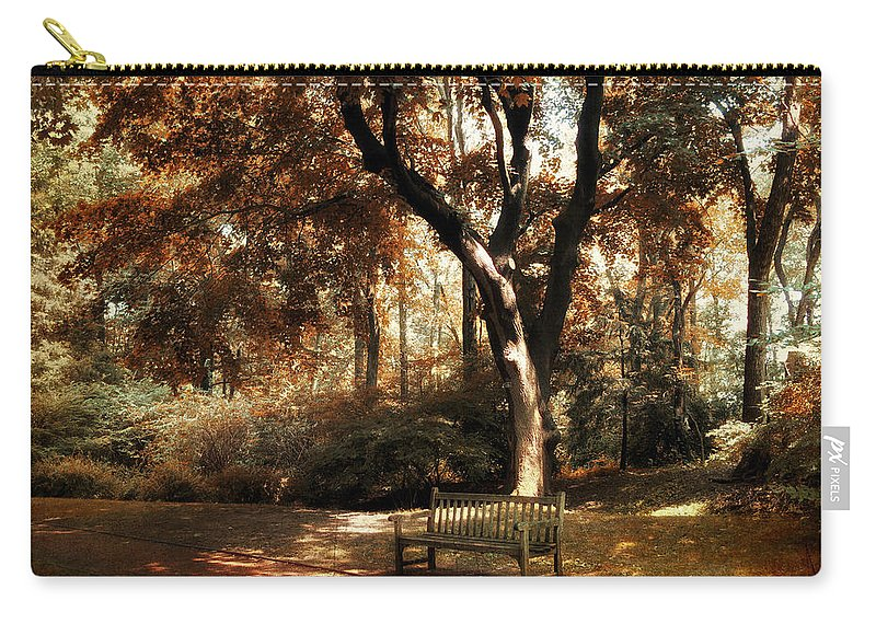 Autumn Carry-all Pouch featuring the photograph Autumn Repose by Jessica Jenney
