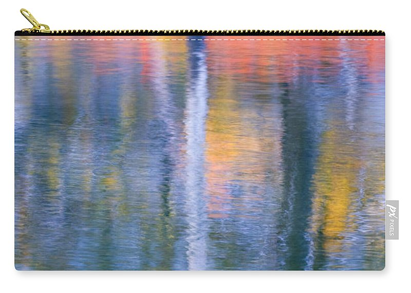 Reflection Carry-all Pouch featuring the photograph Autumn Resurrection by Mike Dawson