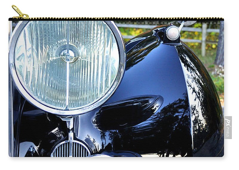 Fall Carry-all Pouch featuring the photograph Autumn Rolls by Tim Nyberg