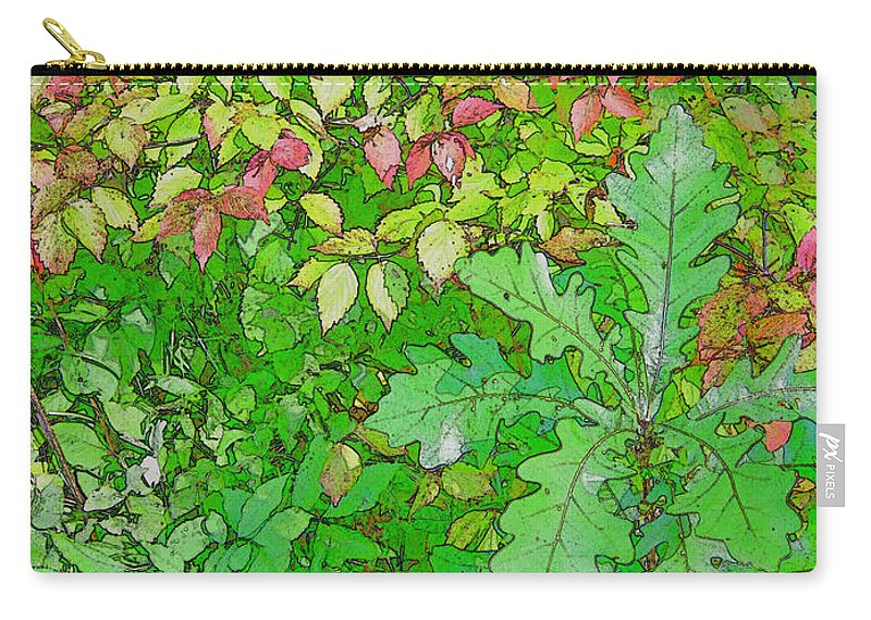 Leaves Carry-all Pouch featuring the photograph Autumn Splender by Joanne Smoley