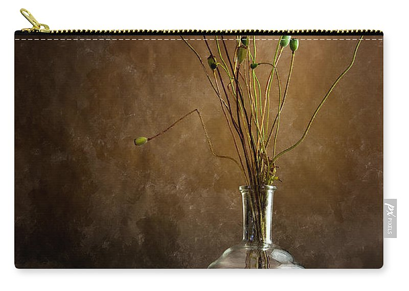 Still-life Carry-all Pouch featuring the photograph Autumn Still Life by Nailia Schwarz