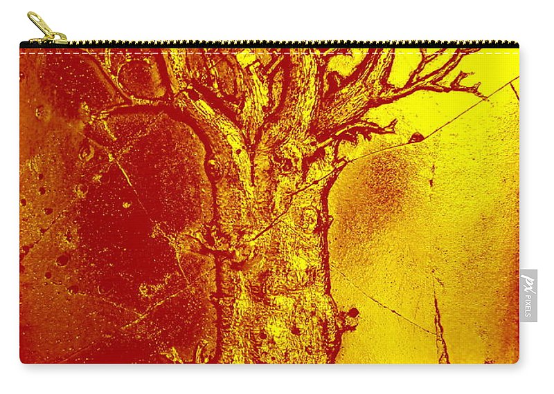 Tree Carry-all Pouch featuring the photograph Autumn Tree by Randall Weidner