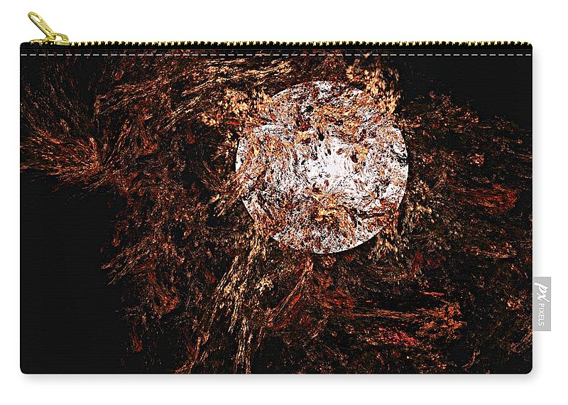 Digital Painting Carry-all Pouch featuring the digital art Autumn Wind 1 by David Lane