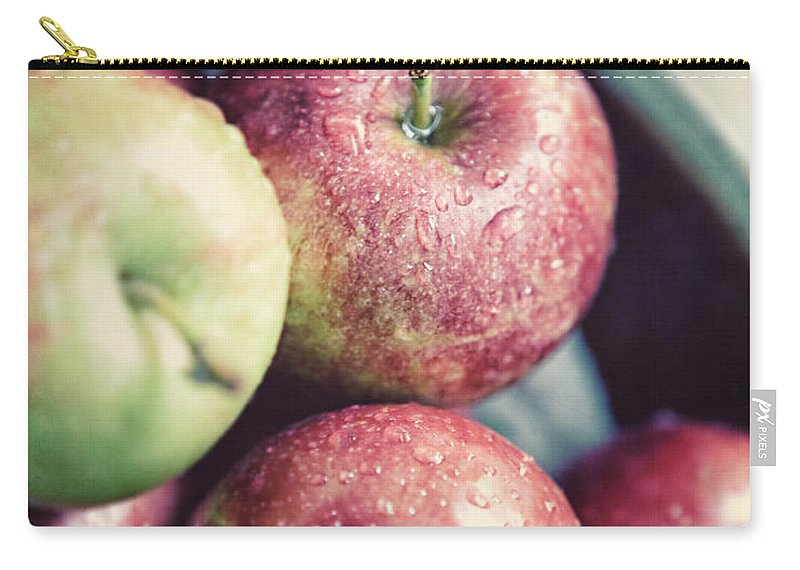 Apple Carry-all Pouch featuring the photograph Autumn's Best by Lisa Russo