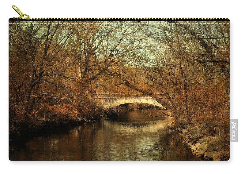 Nature Carry-all Pouch featuring the photograph Autumn's End by Jessica Jenney